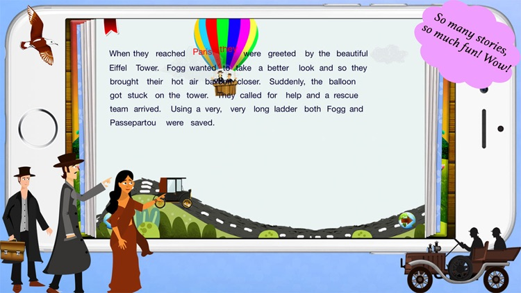 Around the World in 80 Days by Story Time for Kids screenshot-3