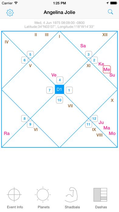 D60 Chart Jyotish