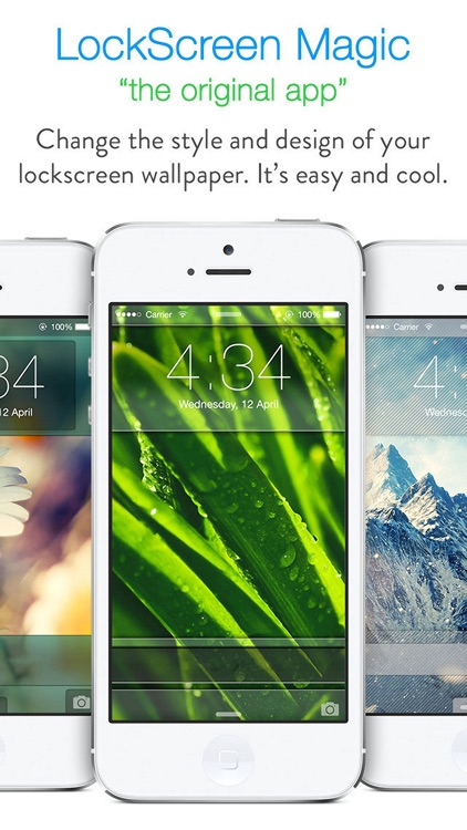 LockScreen Magic for iOS8 : Custom Themes, Backgrounds and Wallpapers for Lock Screen screenshot-0
