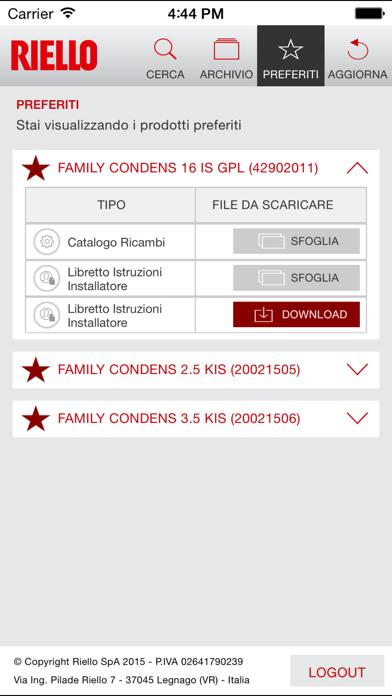 Screenshot of Doc. Prodotti3