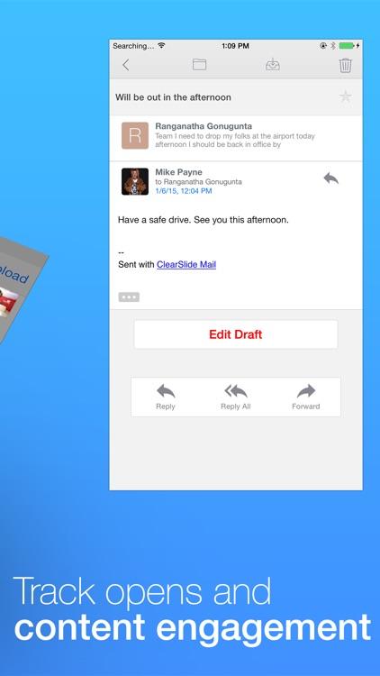 ClearSlide Mail screenshot-3