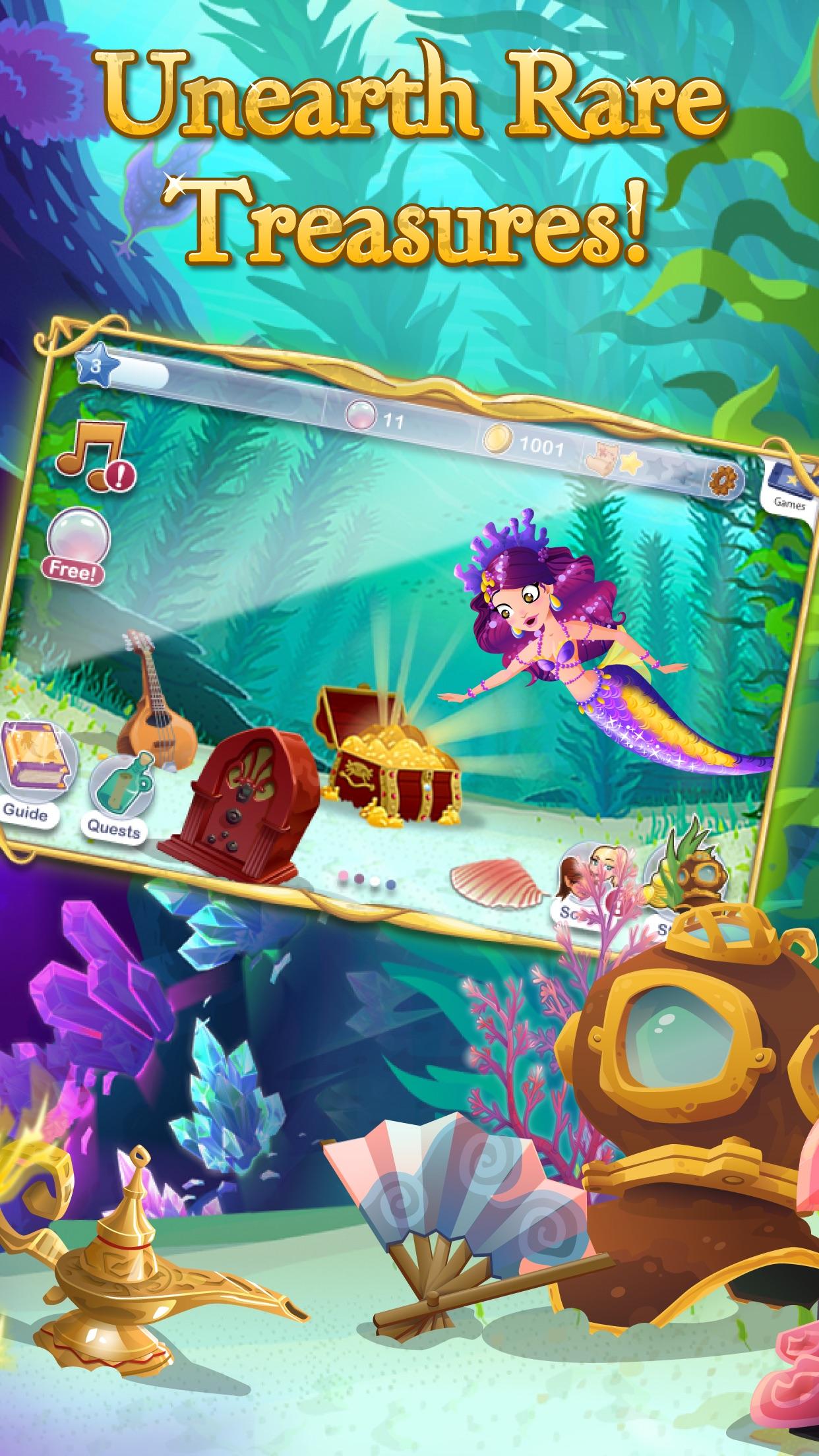 Mermaid World Screenshot
