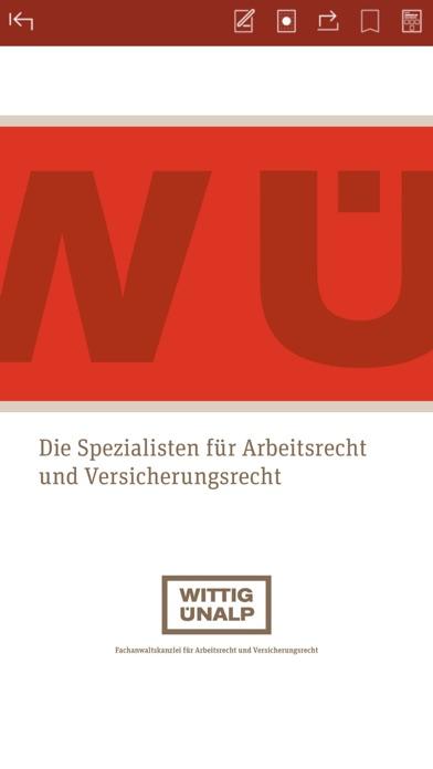 Wittig Ünalp Fachanwälte screenshot one