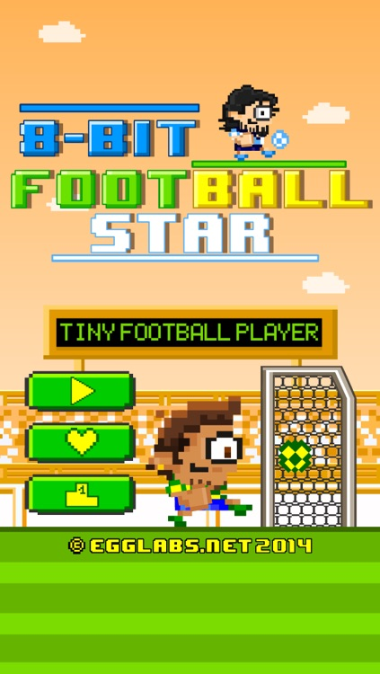 8-bit Football Star - Play Free Retro Pixel Soccer Games screenshot-0