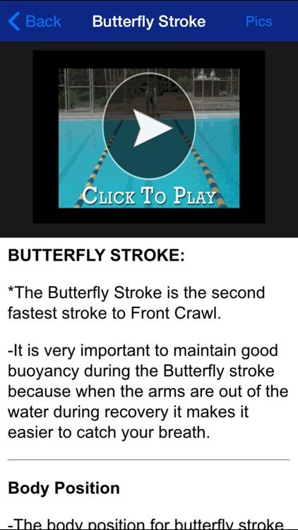 Swim Stroke - Learn How to Swim Like a Pro!