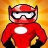 Jetpack Rocket Man Hero Jump Siege