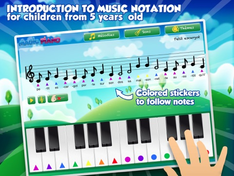 Color Piano: Music theory for kids from 5 [Free]   App Price Drops
