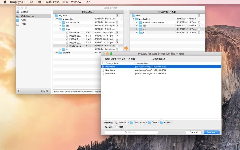 DropSync 3 скриншот программы 2
