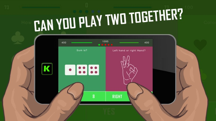Two Fingers, but only one brain (2 F 1 B) - Split Brain Teaser, Cranial Quiz Puzzle Challenge Game