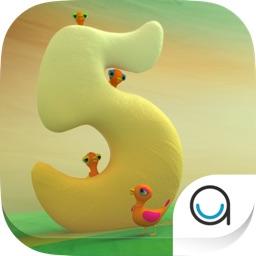 5 Little Ducks: Children's Nursery Rhyme HD