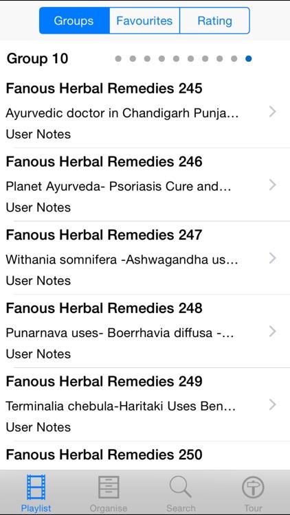 Famous Herbal Remedies screenshot-3