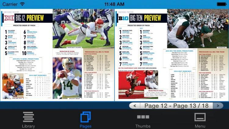 Allstate College Football Magazine screenshot-4