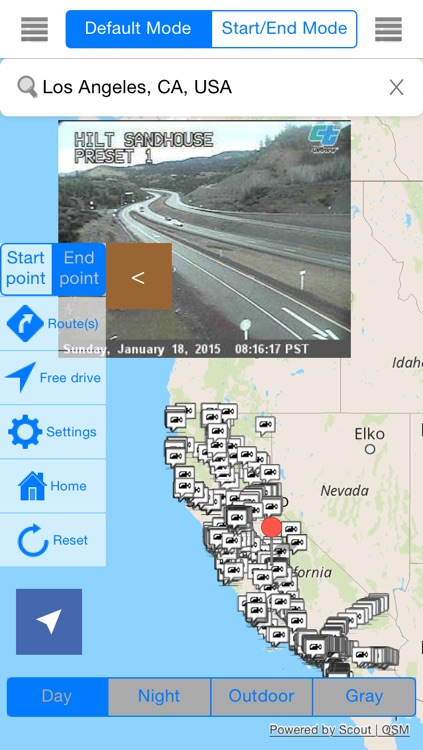California Offline Map & Navigation & POI & Travel Guide & Wikipedia with Traffic Cameras Pro screenshot-0