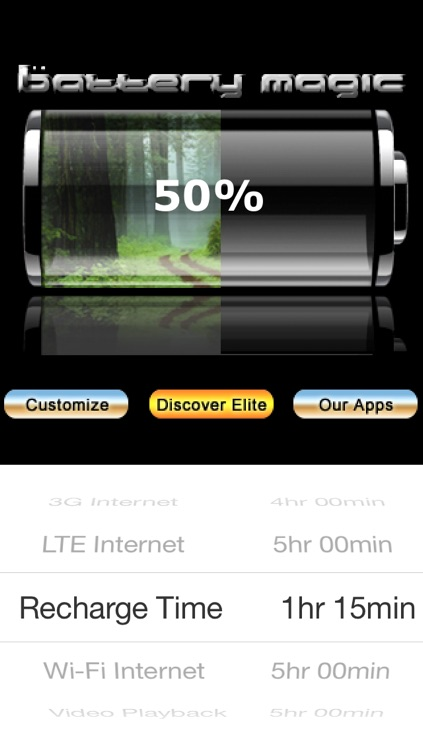 Battery Magic: Battery Life Battery Stats Battery Charge & Saver all in one! screenshot-3