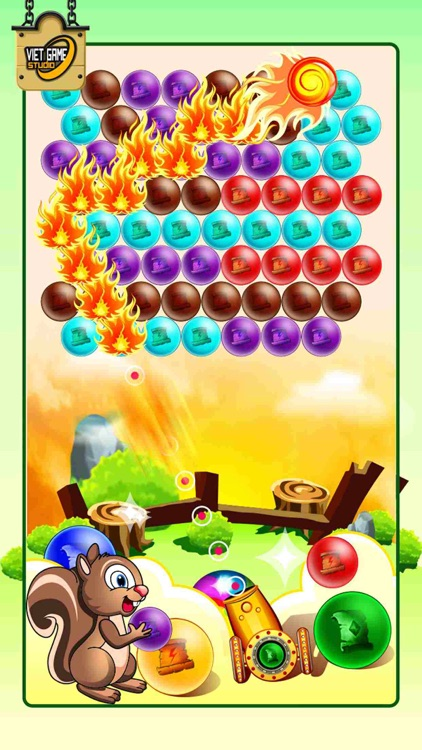 Bubble Shooter IQ Saga HD Pro Edition 2.0 - Egg Shoot Dynomite Jungle Mania Version 3.0 screenshot-4