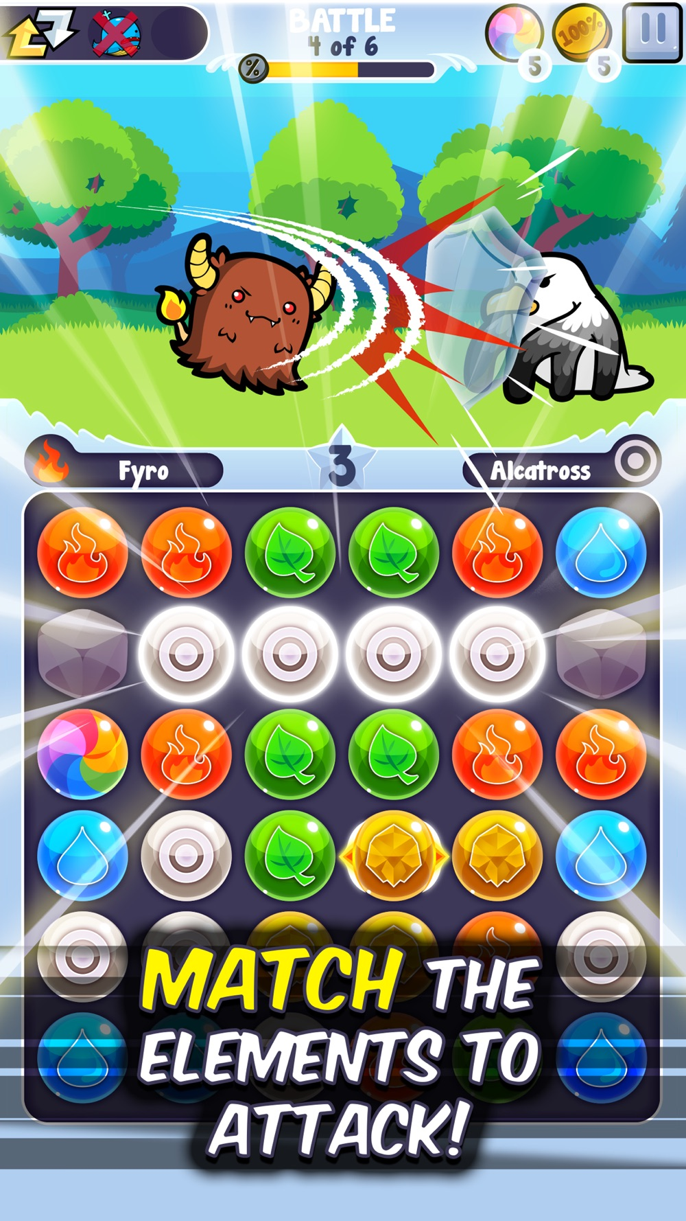Pico Pets Puzzle - Monster Match-3 Game hack tool