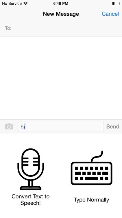 Talking Keyboard