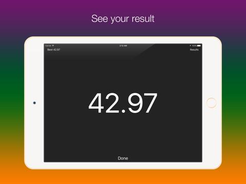 Screenshot #6 pour SpeedUp - Acceleration test 0-100 kmh 0-60 mph