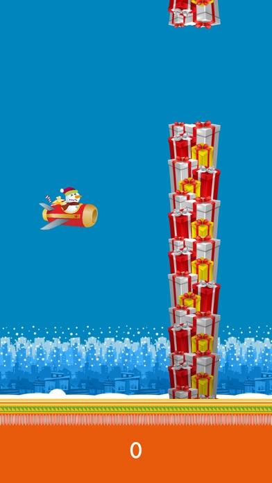 Dazzle Flappy Santa : Flying Santa Claus [Free] screenshot four