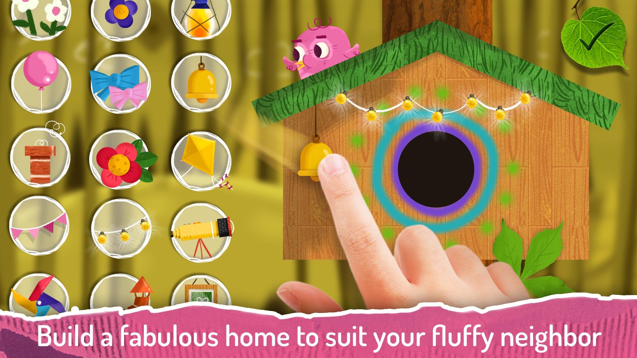 Screenshot do app Duckie Deck Bird Houses