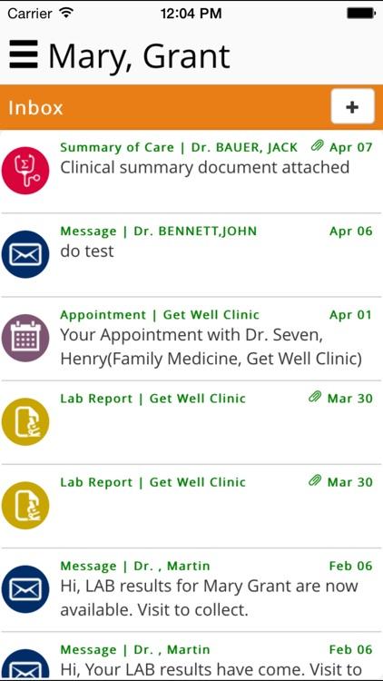 Patient ICT