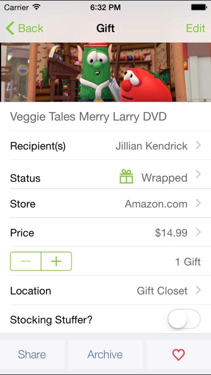 Santa's Bag - Christmas Gift List screenshot-4