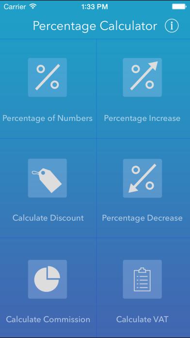 Percentage Calci screenshot four