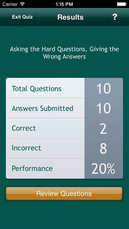 PM&R Q&A - Physical Medicine and Rehabilitation Board Review Quiz screenshot-3