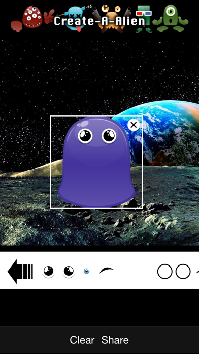 Create-A-Alien - Build up your own personal Alien pet screenshot four