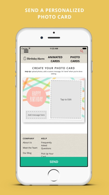 Birthday Alarm Free Birthday Reminders And Greeting Cards By Zuno