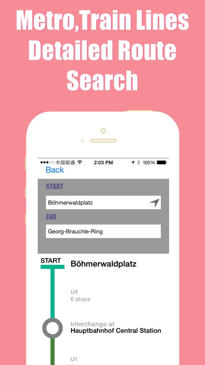 Munich travel guide and offline city map, Beetletrip Augmented Reality München bahn Metro Train and Walks screenshot-4