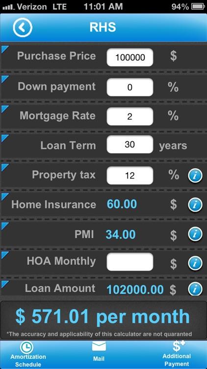 Pro Mortgage Calculator screenshot-3