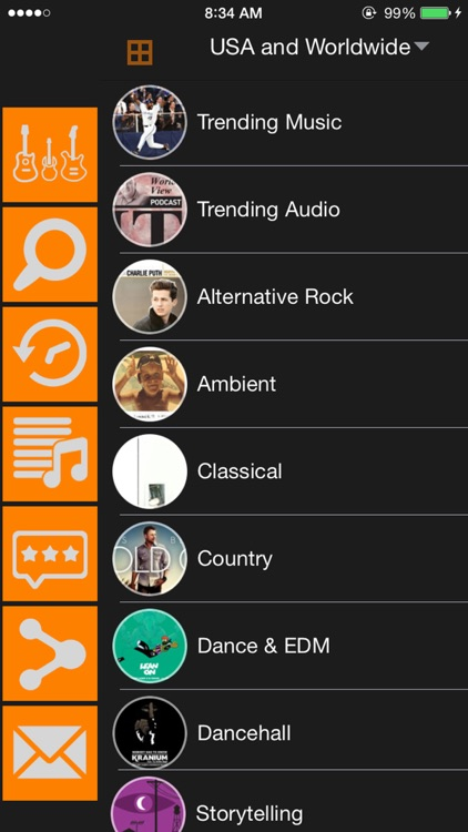 Free Music - MP3 Player & Playlist Manager