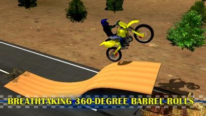 モトスタントバイクシミュレータ3D - 猛烈な高速バイクレースやジャンピングゲーム紹介画像2