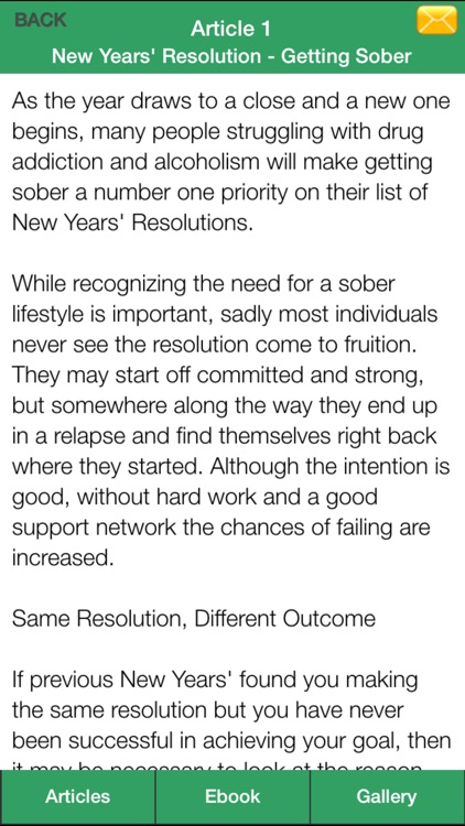 Sobriety Guide - Succeeding at Your Sober Resolutions! screenshot-4