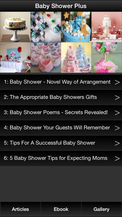 Baby Shower Plus - A Guide On How To Plan & Organize A Perfect Baby Shower!
