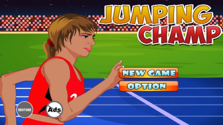 Jumping Champ : Long Jump Athlete