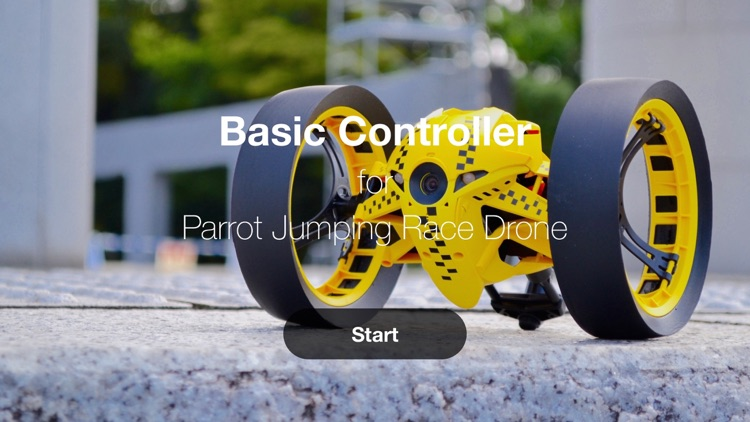 Basic Controller for Jumping Race Drone