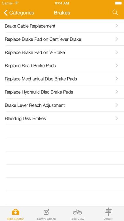 Bike Doctor - Easy bike repair and maintenance screenshot-3