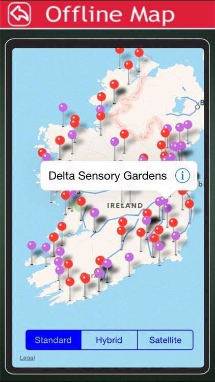 Ireland Offline Map Tourism Guide screenshot-4