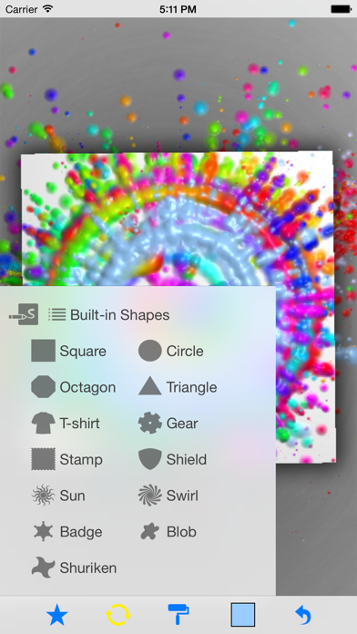 SpinArt screenshot three