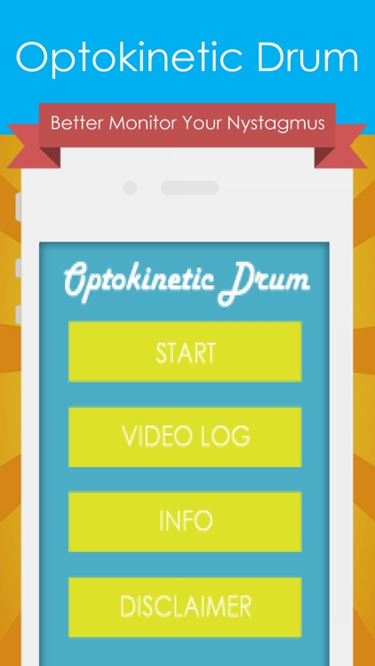 Optokinetic Drum Pro - Monitor Symptoms with Eye Movement Recorder Tool