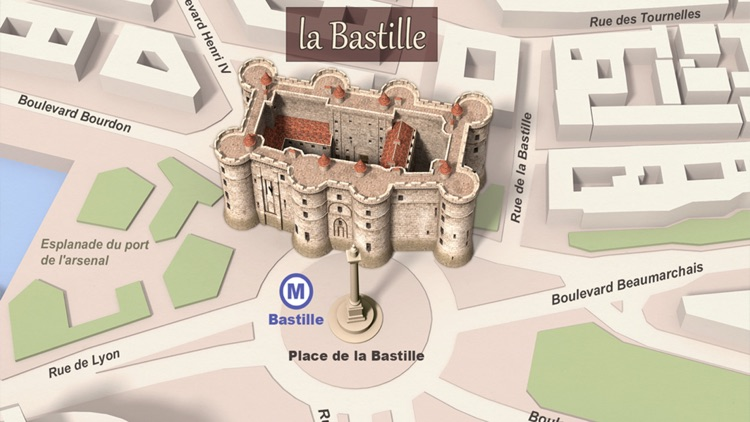 The Fortress of Bastille - VR Tour screenshot-0