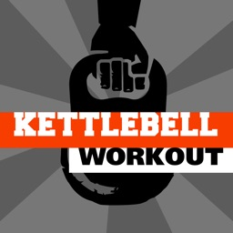 Kettlebell workout - training hiit wod & exercises trainer for arm leg abs