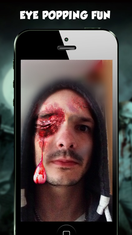 Freaky Face - Zombie Camera Pic Booth Editor Prank screenshot-2