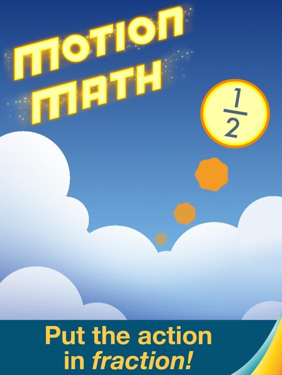Motion Math: Fractions! screenshot-0