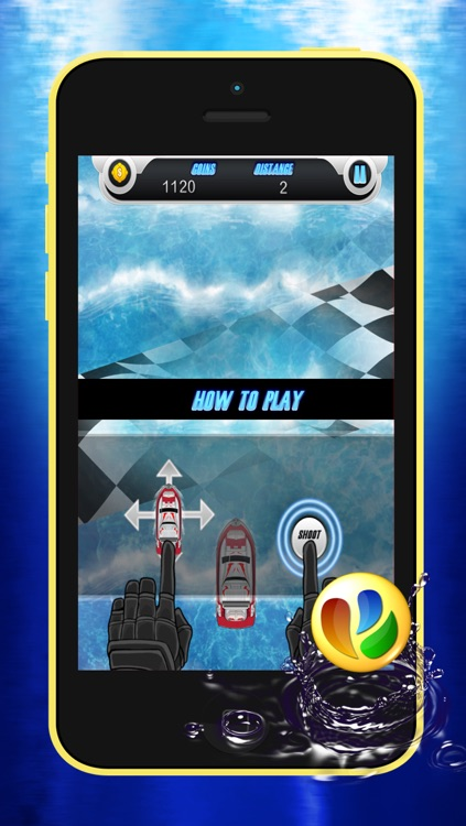 Fun Boat Chase Race – Action Racing Game screenshot-4