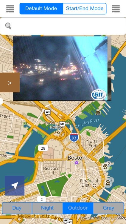 Massachusetts/Boston Offline Map & Navigation & POI & Travel Guide & Wikipedia with Real Time Traffic Cameras Pro