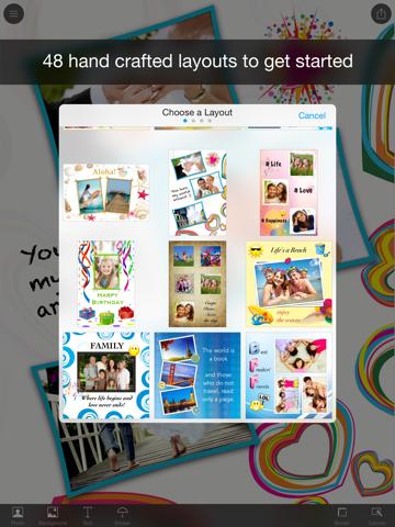 Photo Wall HD - Collage App for iPadのおすすめ画像2