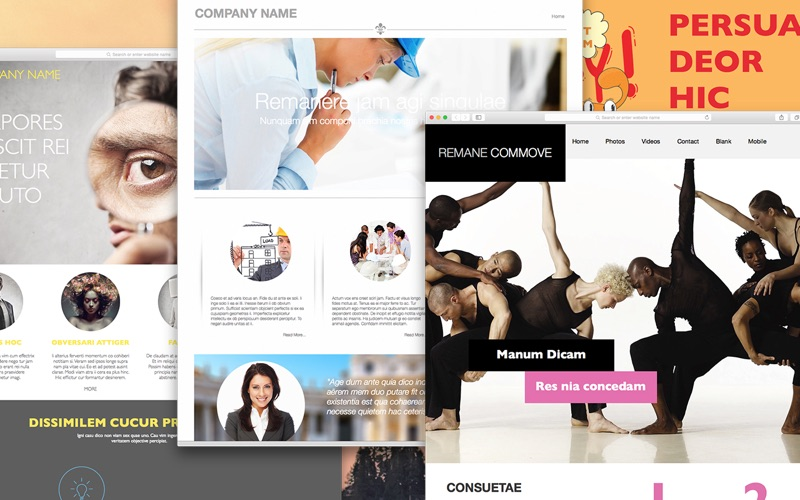 Bundle for EverWeb - Themes and Templates for Website Designs for Mac